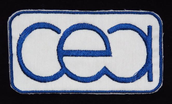 Le mystérieux badge spatial français du Comissariat à l'Energie Atomique! CEA