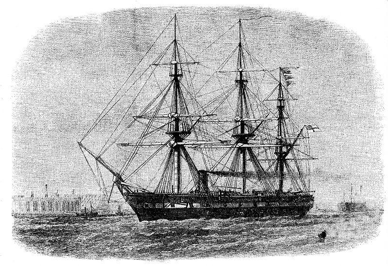 Origine du nom des navettes spatiales Challenger_(1858)
