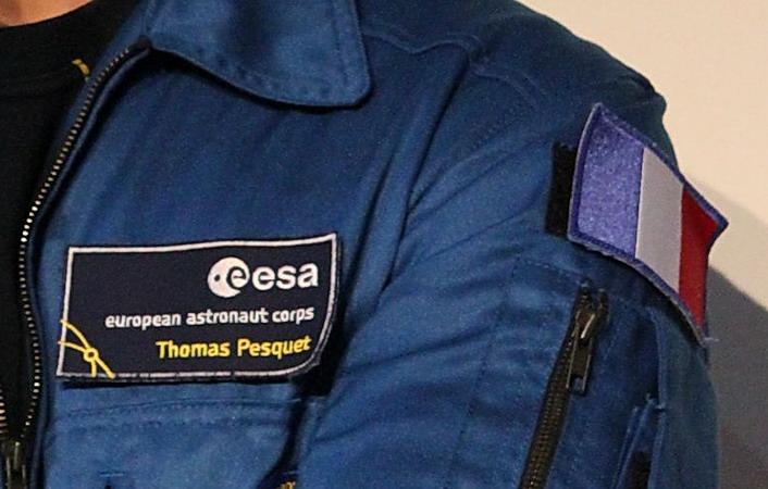 Ecussons du Corps des Astronautes Européens de l'ESA ESA%20Astrocorps%20Pesquet%201