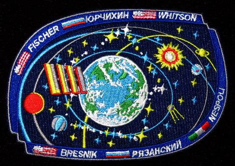 Le badge de l'EVA 43 Exp52