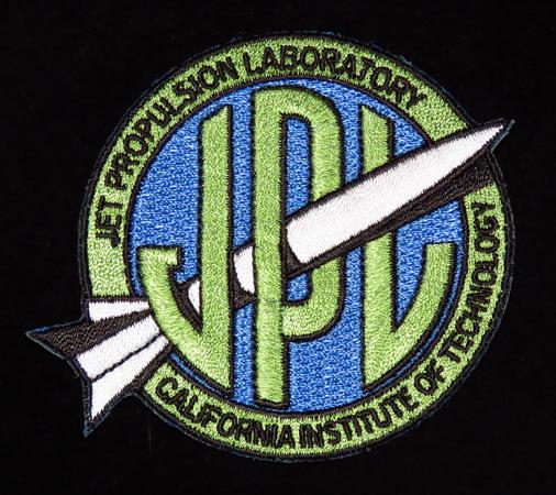 Logo d'origine du JPL sur Explorer-1 JPL%20old