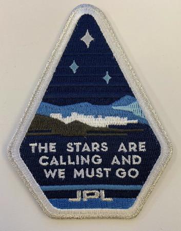 Logo d'origine du JPL sur Explorer-1 JPL%20stars