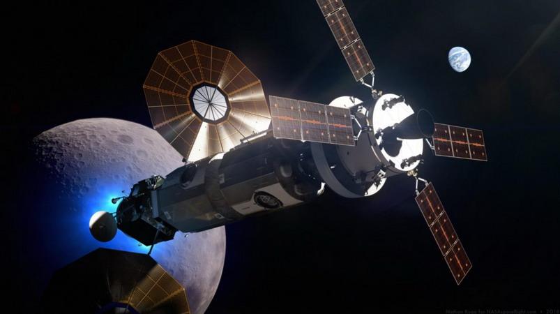 Ecusson de la station lunaire LOP-G LOP-G