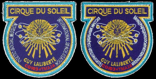 Soyouz TMA-16: Les badges privés de Guy LALIBERTE Laliberte%20Cirque%20du%20soleil