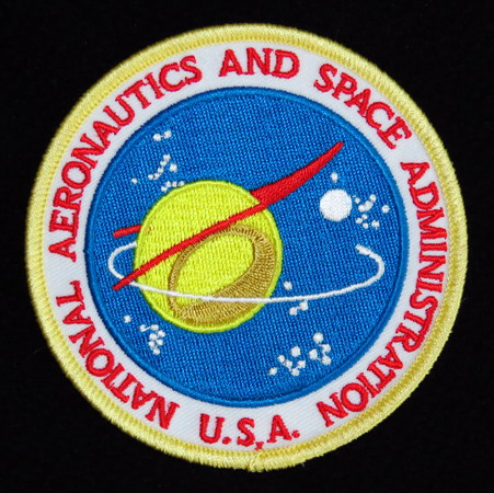 Badge NASA Seal: origine du logo Nasa old