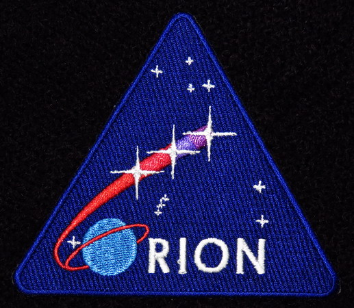 Badges du programme US ORION + ESA ESM Orion 2