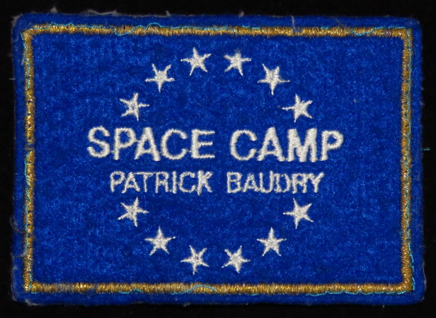 Patrick BAUDRY et son Space Camp: souvenirs et badges Space%20camp%20baudry1