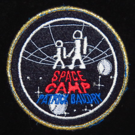 Patrick BAUDRY et son Space Camp: souvenirs et badges Space%20camp%20baudry2
