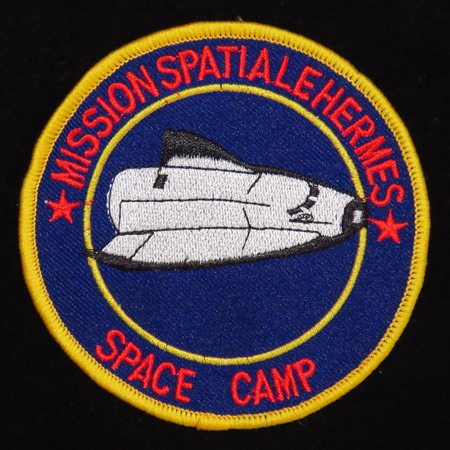 Patrick BAUDRY et son Space Camp: souvenirs et badges Space%20camp%20baudry3