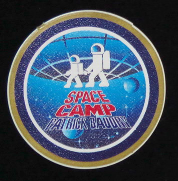 Patrick BAUDRY et son Space Camp: souvenirs et badges Space%20camp%20baudry5