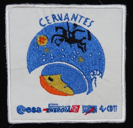 Nouveau: Badges spatiaux rares a vendre sur commande Cervantes2