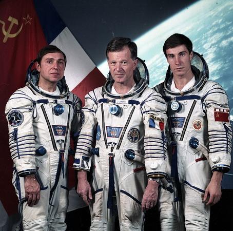 Le rare badge Mir EO-4 Soyuz-tm-7