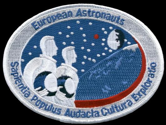 Ecussons du Corps des Astronautes Européens de l'ESA Esa_astronauts