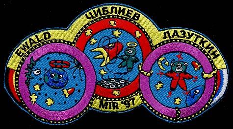 L'astronaute Reinhold Ewald prend sa retraite de l'ESA Mir97ewald