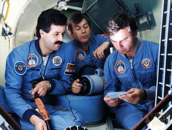 Muhammed Faris, cosmonaute syrien et réfugié Soyuz-tm-3